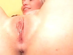 Fervid Girl Is Gaping Soft Slit In Close Range And Climaxing