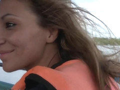 Любовь на яхте порно, как я трахнула зятя