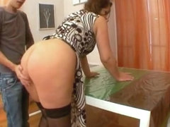 French big ass pussy & anal fucked