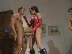 latex titgirl takes two