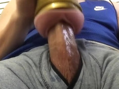 Hard Cock Fleshlight Fuck