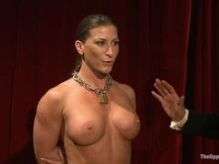 Fetish gay sex and bdsm training on halloween night