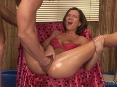 Long Dick Fucks Wife