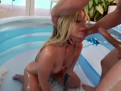 Madelyn Monroe gets fostered by hardcore twatting
