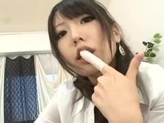 Kinky guy gets a prostate massage fetish femdom