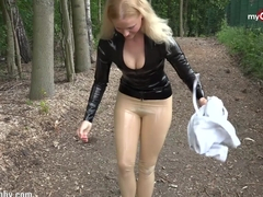 My Dirty Hobby - public latex fan fuck