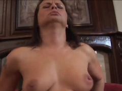 Milf squirts with big dildos 4